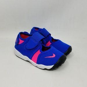 Nike Little Rift TD Hyper Cobalt Pink Toddler's 7c